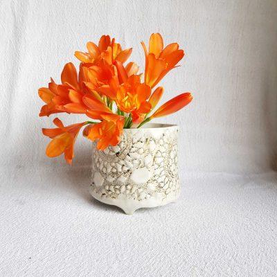 Brown Stone Vase